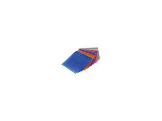 Конверты Hama для CD/DVD полипропилен 5 цветов 50шт H-51067 зажим соединит изолирующий 1 3мм 50шт серый