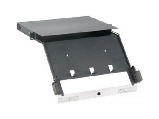 Шкаф оптический Panduit FCE1U 19 1U выдвижной макс 4 кассеты QuickNet/FAP цена