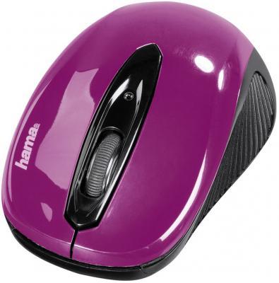 Мышь беспроводная HAMA AM-7300 86565 фиолетовый USB