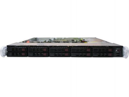 """Серверная платформа Supermicro SYS-1027R-WC1RT 1U 2хLGA2011 C602J 16xDDR3 10x2.5"""" SAS/SATA 2xGigabit Ethernet 700Вт"""