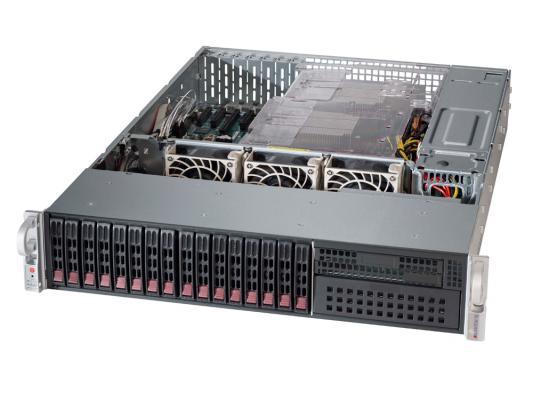 "Серверная платформа Supermicro SYS-2028R-C1R 2U LGA2011-3 C612 16xDDR4 16x2.5"" 2xGigabit Ethernet 920Вт"