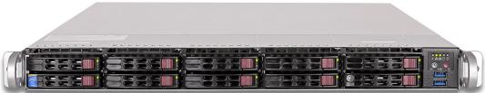 "Серверная платформа Supermicro SYS-1018R-WC0R 1U LGA2011-3 C612 8xDDR4 10x2.5"" 2xGigabit Ethernet 2х750Вт"