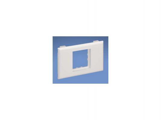 Панель Panduit T70BL1AW лицевая T70 1 вставка 45х45 белый