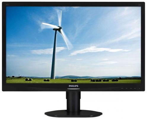 Монитор 24 Philips 241S4LCB монитор philips 246v5lsb