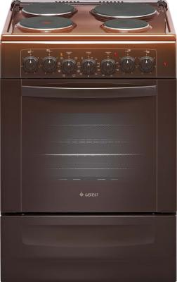 Электрическая плита Gefest 5140-02 0038 коричневый