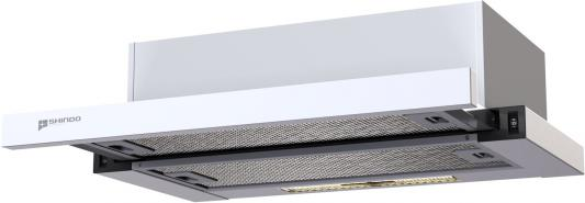 Вытяжка встраиваемая Shindo MAYA 60 1M W/WG белый вытяжка shindo arktur sensor 60 w wg 3etc