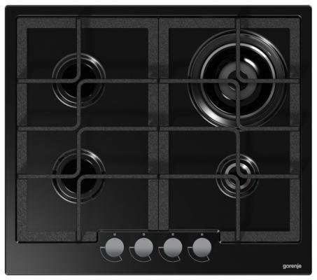 Картинка для Варочная панель газовая Gorenje G65B черный