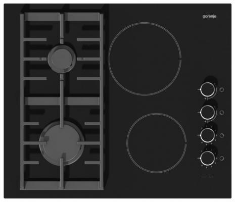 цены на Варочная панель комбинированная Gorenje KC621USC черный в интернет-магазинах