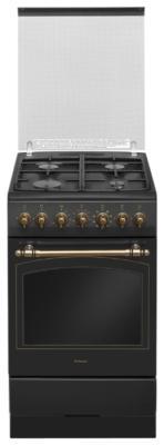 Комбинированная плита Hansa FCMA58109 черный