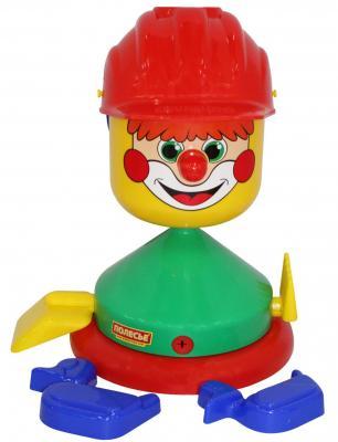 все цены на Песочный набор Полесье Строитель 8 предметов 48462 красный онлайн