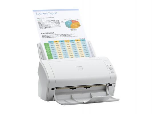 Сканер Fujitsu ScanPartner SP30 протяжный А4 600x600 dpi CCD 50ppm USB белый PA03684-B301