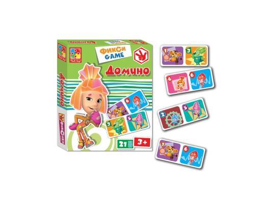 Настольная игра Vladi toys развивающая Домино. Фиксики VT2107-01 цена и фото