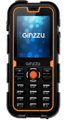 Мобильный телефон GINZZU R2D черный оранжевый 2.2 мобильный телефон ginzzu mb501 красный