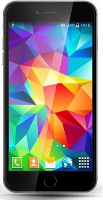 "Смартфон GINZZU S4720 серый 4.7"" 8 Гб Wi-Fi GPS"