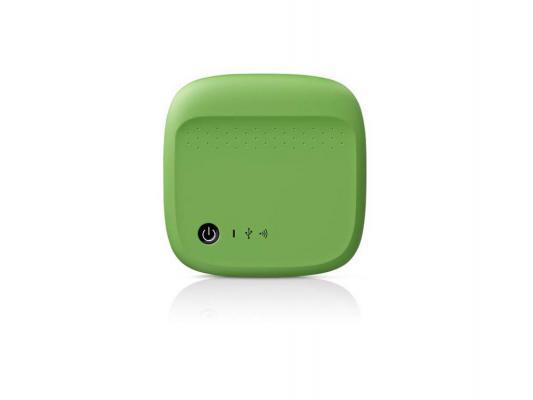 """Купить Внешние жесткие диски   Внешний жесткий диск 2.5"""" USB2.0 500 Gb Seagate Wireless STDC500401 зеленый"""