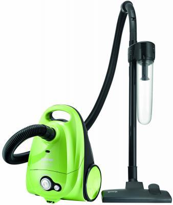 Пылесос Gorenje VC1615G сухая уборка зелёный чёрный пылесос gorenje vc 1615 g vc1615g