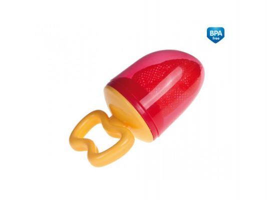Ниблер Canpol babies для кормления 1 шт красный от 5 месяцев 56/105 canpol babies ложка для кормления от 4 месяцев цвет красный