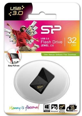 Флешка USB 32Gb Silicon Power Jewel J05 SP032GBUF3J08V1K черный флешка usb silicon power jewel j05 16гб usb3 0 черный [sp016gbuf3j05v1k]