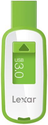 Флешка USB 16Gb Lexar JumpDrive S25 LJDS25-16GABEU бело-зеленый от 123.ru