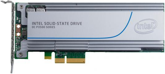 Твердотельный накопитель SSD PCI-E 2Tb Intel SSD P3500 Series Read 2700Mb/s Write 1800Mb/s SSDPEDMX020T401 933095 твердотельный накопитель ssd 2 5 450gb intel ssd p3520 series read 1200mb s write 600mb s pci e ssdpe2mx450g701 948646