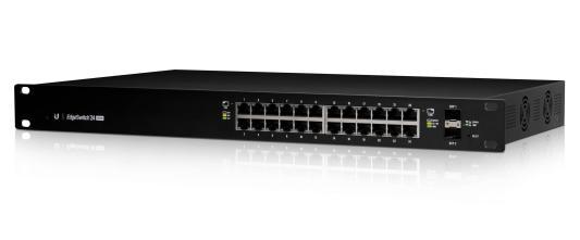 Коммутатор Ubiquiti EdgeSwitch 24 250W управляемый L2 24 порта 10/100/1000Mbps PoE(250W) 2xSFP ES-24-250W(EU) коммутатор ubiquiti us 8 60w eu