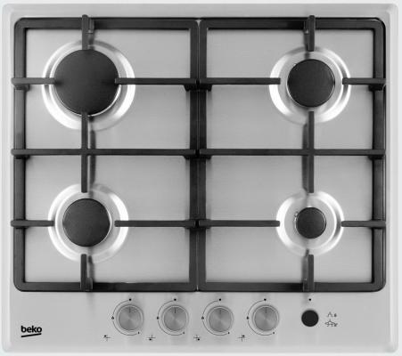 Варочная панель газовая Beko HIMG 64235 SX серебристый