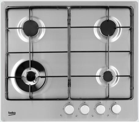 Варочная панель газовая Beko HIMW 64223 SX серебристый