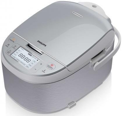 Мультиварка Philips HD3095/03 860Вт 4л серебристый мультиварка philips hd3095 03 860вт 4л серебристый