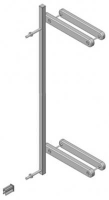 Дополнительный зажим для крепления на лестнице Geuther Easy Lock (белый)