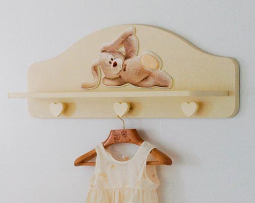 Вешалка-полка Baby Expert Cremino (крем)