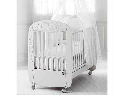 Купить Кроватка Baby Expert Butterfly (белый)