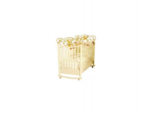 Кроватка-качалка Baby Expert Ceramics Perla (крем)