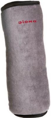 Подушка DIONO Pillow 26.5 х 9.3 см серый текстиль 60025