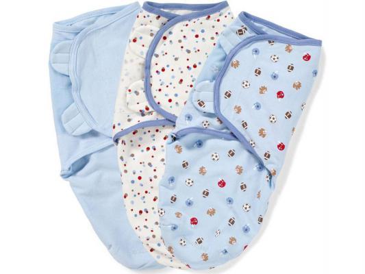Конверты для пеленания на липучке размер S/M 3 шт. Summer Infant Swaddleme (спорт)