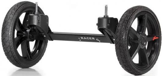 Система сменных колес Quad для коляски Hartan Topline S (черный/оранжевый)