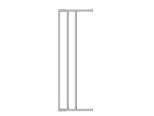 Дополнительная секция к воротам безопасности 18см Clippasafe (серебро) ворота безопасности 73 96см clippasafe белый cl130
