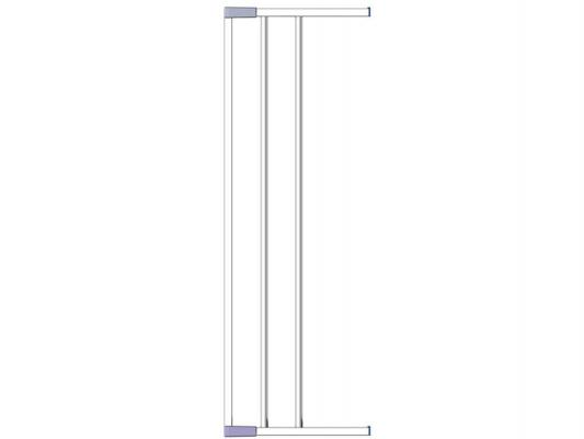 Дополнительная секция к воротам безопасности 18см Clippasafe (белый) ворота безопасности 73 96см clippasafe белый cl130