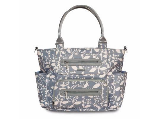 Сумка для мамы JJ Cole Caprice (серая) jj cole сумка satchel