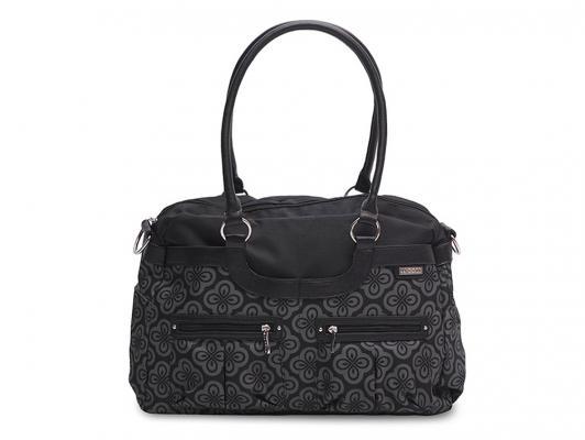 Сумка для мамы JJ Cole Satche (черная) jj cole сумка satchel