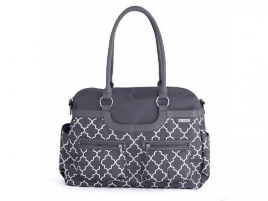 Сумка для мамы JJ Cole Satche (серая) jj cole сумка satchel