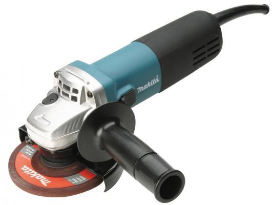 Углошлифовальная машина Makita 9557HNK 115 мм 840 Вт