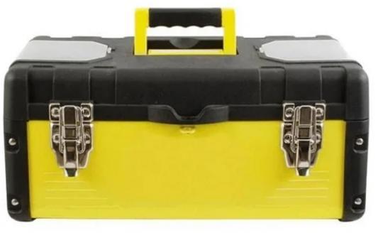 Ящик для инструмента Fit 16 пластиковый 65591 ящик для инструмента с металлическими замками 16 175х210х410мм stels россия 90711
