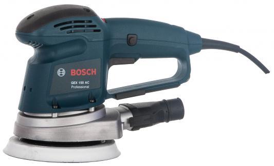 Эксцентриковая шлифмашина Bosch GEX 150 AC 340Вт 150мм 0601372768