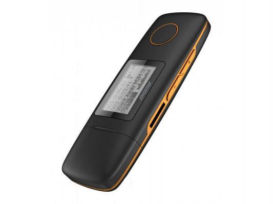 лучшая цена Плеер Digma U3 4Gb черный/оранжевый 291208