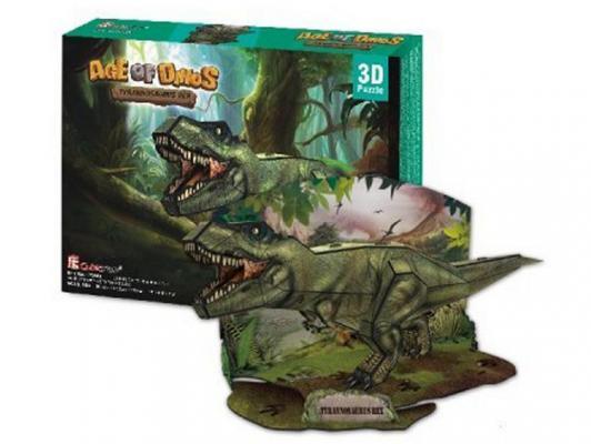 Пазл 3D CubicFun Эра Динозавров: Тираннозавр 36 элементов P668H cubicfun пазл 3d эра динозавров трицератопс cubicfun
