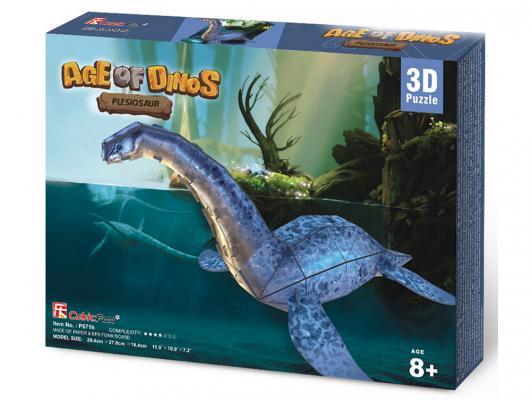 Пазл 3D CubicFun Эра Динозавров Плезиозавр 38 элементов