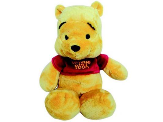 Мягкая игрушка медведь Disney Винни плюш желтый 25 см 6901014010563 мягкая игрушка disney салли герой мультфильма голубой текстиль 25 см