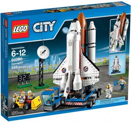 Конструктор Lego City Космодром 586 элементов 60080 lego lego city космодром