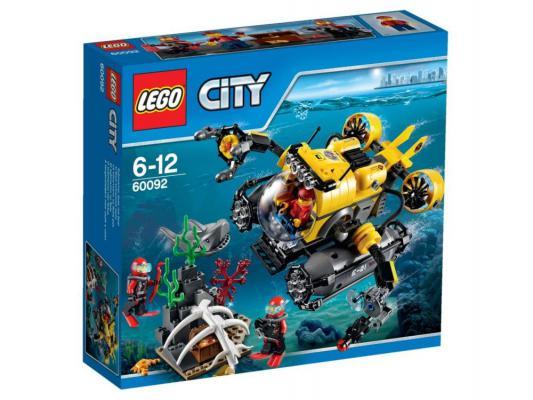Конструктор Lego City Глубоководная подводная лодка 274 элемента 60092