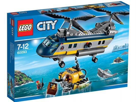 Конструктор Lego Город Вертолет исследователей моря 388 элементов 60093